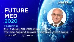 Dr. Eric J. Rubin, editor-in-chief of the New England Journal of Medicine