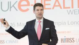 Simon Eccles speaks at UK e-Health Week.