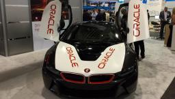 Oracle race car