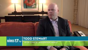Todd Stewart, VP of Clinical Integration at Mercy