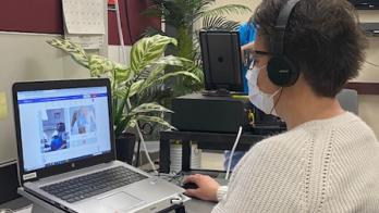 telehealth visit using Tyto Care technology
