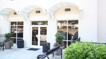 Exterior of medical office
