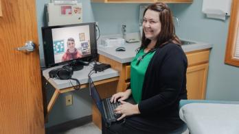 Greene County General quickly transitions school telehealth to countywide program