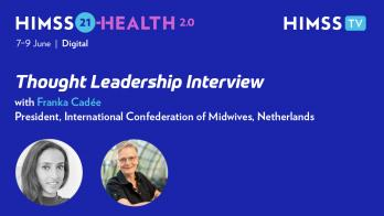 Franka Cadée, president of the International Confederation of Midwives