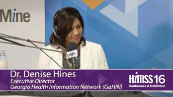 Denise Hines on HIMSS Radio at HIMSS16