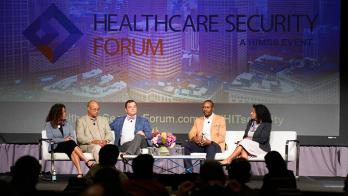 HIMSS Security Forum Leadership Panel.