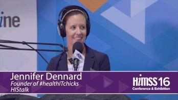 Jennifer Dennard on HIMSS Radio at HIMSS16