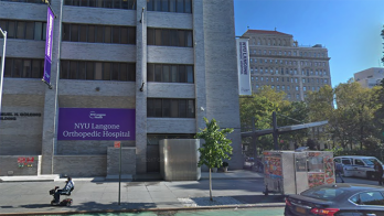 NYU Langone Health on East 17th Street in New York City