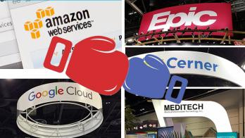 EHR epic cerner google amazon
