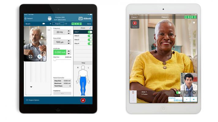 Abbott Virtual Clinic screenshot