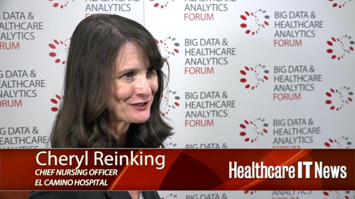 Cheryl Reinking, CNO at El Camino Hospital