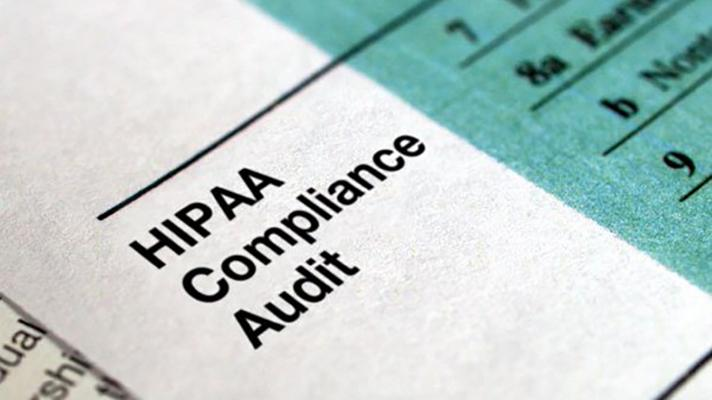 HIPAA compliance audit paper.