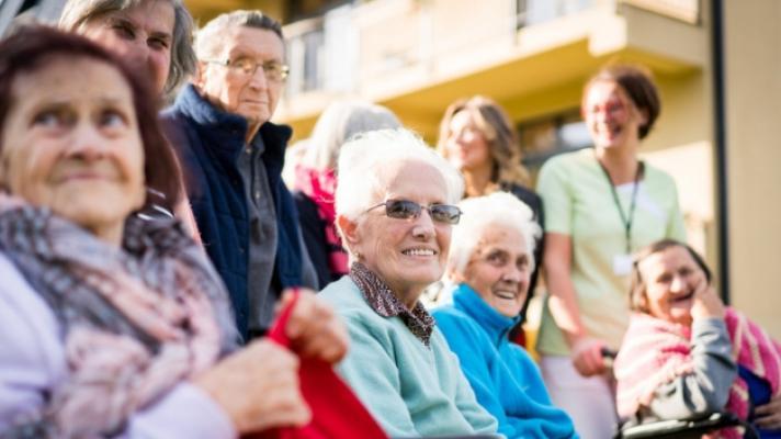 Senior citizens.