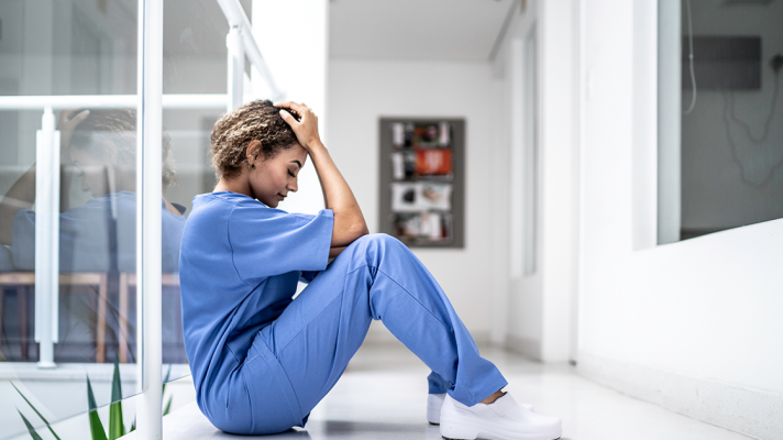 Nurse burnout stress and IT