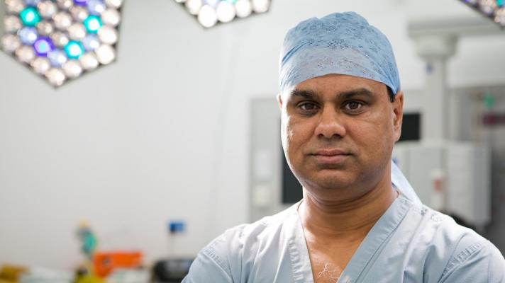Professor Shafi Ahmed, chief medical officer and cofounder of Medical Realities