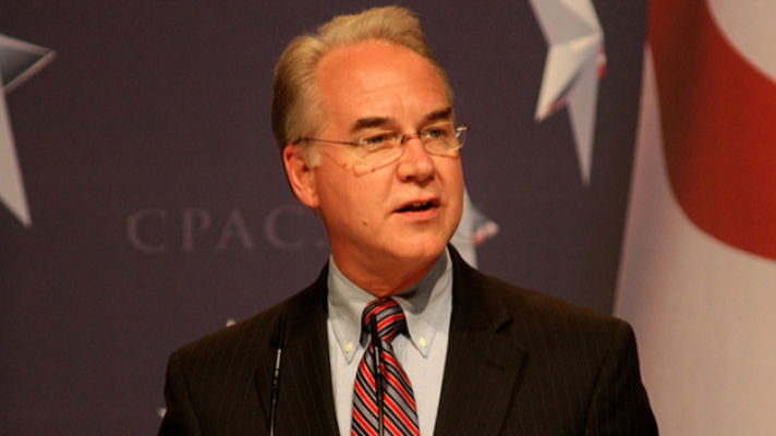 Tom Price HHS Senate