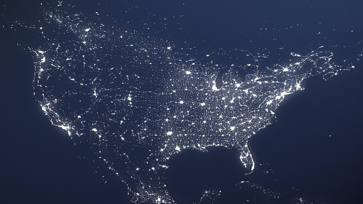 U.S. Interoperability Map