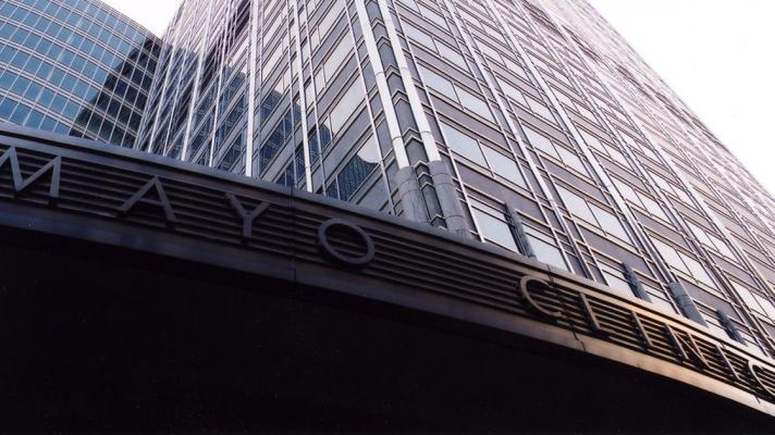 The Mayo Clinic sign