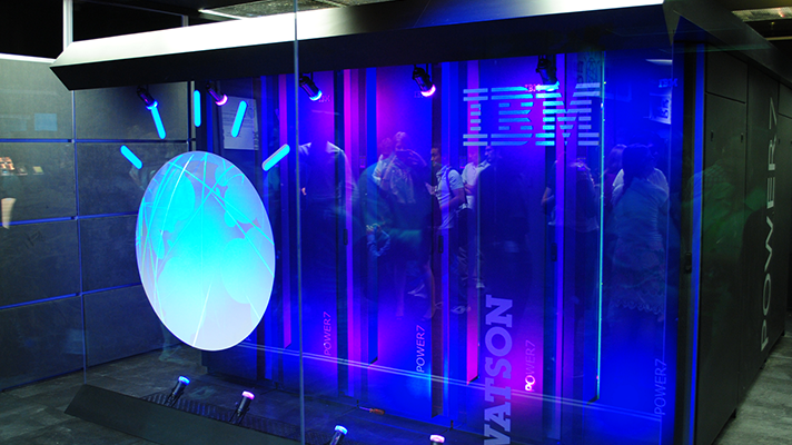 """IBM Watson understands natural language in context; it can determine the intent of a phrase or question and provide a pertinent, useful response."""