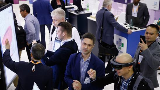 HIMSS19 show floor