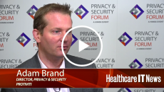 Adam Brand, director of privacy and security at Protiviti