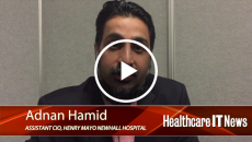 Adnan Hamid, Assistant CIO at Henry Mayo Newhall Hospital