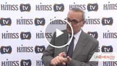 Charles Alessi, MD, chief clinical officer for HIMSS International talking to HIMSS Tv