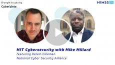Kelvin Coleman, executive director of the National Cyber Security Alliance