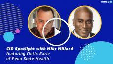 Penn State Health's Cletis Earle