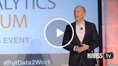 Cleveland Clinic CIO Ed Marx discusses healthcare leadership at Big Data and Analytics Forum