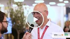 Hans Mekenkamp talking about enterprise imaging at HIMSS Europe