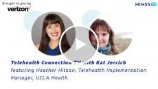 UCLA Health Telehealth Implementation Manager Heather Hitson