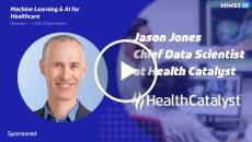 Health Catalyst Chief Data Scientist Jason Jones