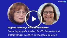 Angela Jordan, senior CDI consultant at TRUSTED i10