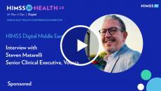 Steven Matarelli, senior clinical executive at Vocera Communications