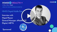Majed Nasser, general manager at GE Digital, META