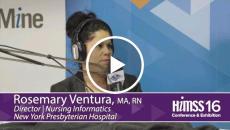 Rosemary Ventura on HIMSS Radio at HIMSS16