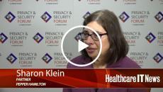 Sharon Klein, partner in the Health Sciences Department of Pepper Hamilton
