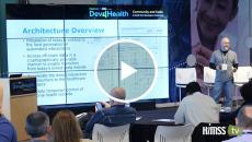 Tim Dunlevy, VP of engineering at Pokitdok explains Blockchain at Dev4Health event