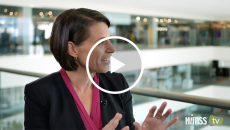 Tina Joros talks to HIMSS TV about healthcare innovation