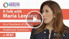 Maria Lensing, vice president of global healthcare solutions at AT&T