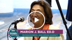 Marion Ball speaks to women entering health IT