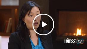 Anyi Chen talks to HIMSS TV at Big Data and Healthcare Analytics Forum