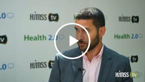 Chris Pesce talks to himss tv at health 2.0 conference