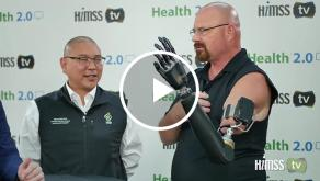 Dr. Albert Chi talks to HIMSS TV at Health 2.0