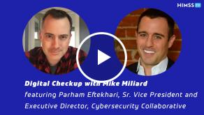 Parham Eftekhari, executive director of the Cybersecurity Collaborative