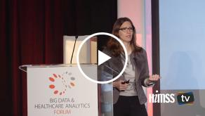 India Hook-Barnard from UC San Francisco talks about precision medicine and analytics at HIMSS Big Data Forum