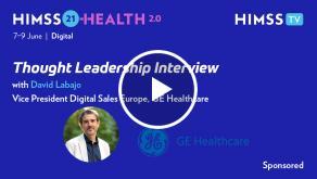David Labajo, VP of digital sales Europe at GE Healthcare
