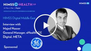 Majed Nasser, general manager at GE Digital, META