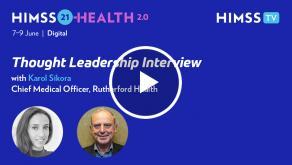 Professor Karol Sikora, chief medical officer at Rutherford Health
